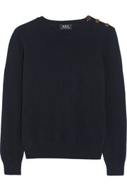 Kelly wool and cashmere-blend sweater