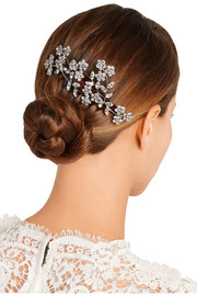 Willa Swarovski crystal-embellished hair comb