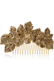 Khloe gold-tone hair slide