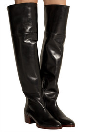 Chloé Leather over-the-knee boots