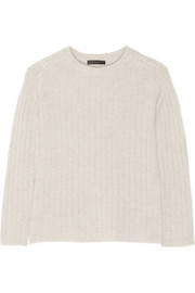 The Row Milo ribbed cashmere sweater