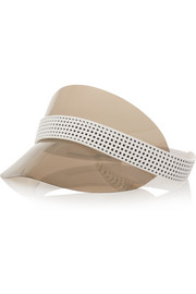 Ocean Drive perforated leather and vinyl visor