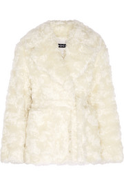 Mohair and cotton-blend jacket