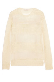 Shauna open-knit mohair-blend sweater