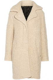 Denise wool and mohair-blend coat