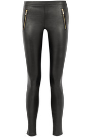Karl Lagerfeld Sammy leather leggings
