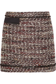 Suzie bouclé-tweed mini skirt