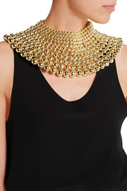Mille Bolle gold-tone choker