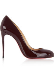 Dorissima 100 patent-leather pumps