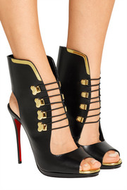 Christian Louboutin Troubida 120 leather sandals
