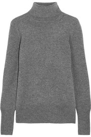 Cashmere turtleneck sweater