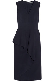 Alexander McQueen Ruffled stretch-crepe dress
