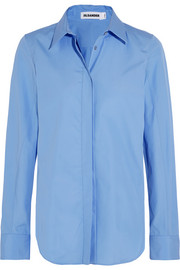 Jil Sander Veronica cotton-poplin shirt