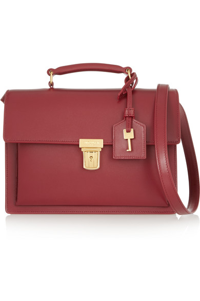 a8709f29fdb Saint Laurent | High School leather shoulder bag | NET-A-PORTER.COM