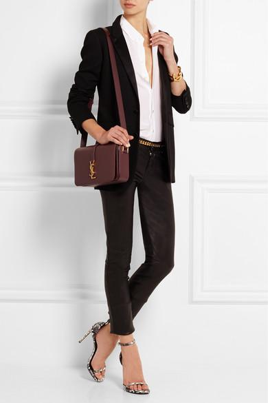 Saint Laurent | Monogramme Sac Universit�� medium leather shoulder ...