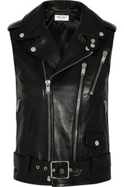 Saint Laurent Leather vest