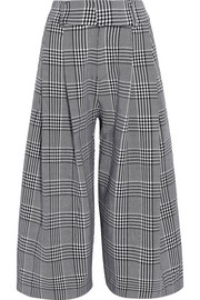 Wilson checked wool culottes