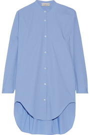 Teddy oversized cotton-poplin shirt