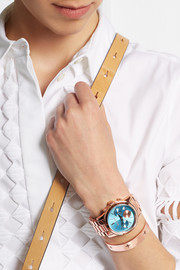 Michael Kors Rose gold-plated watch