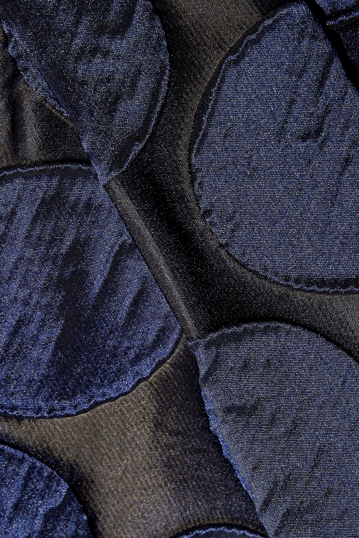 No. 21 Polka-dot taffeta maxi skirt