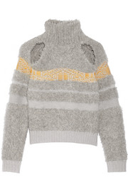Charis cutout wool-blend sweater