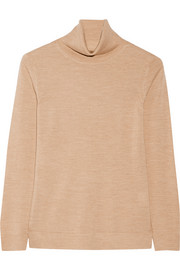 Annabella merino wool turtleneck sweater