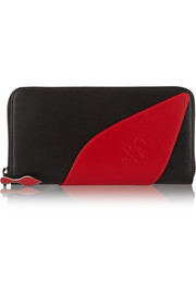 Christian Louboutin Suolita leather continental wallet