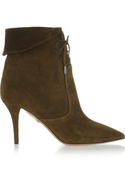 Tribeca suede ankle boots
