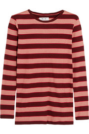 Kate striped cotton top