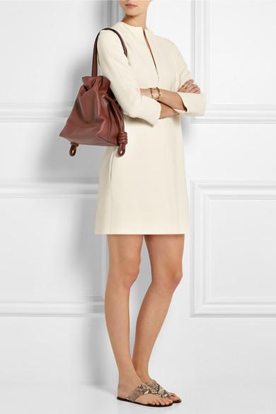 e7f26be104ad Flamenco Knot small leather shoulder bag