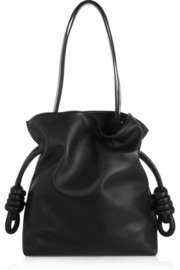 Flamenco Knot small leather shoulder bag