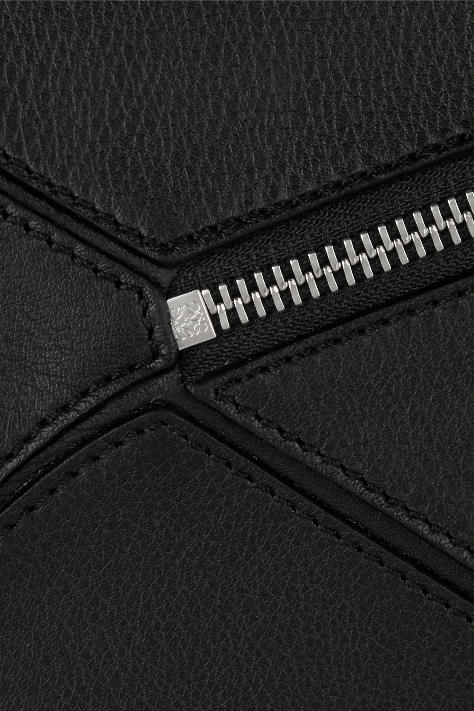 Loewe Puzzle kleine Schultertasche aus Leder