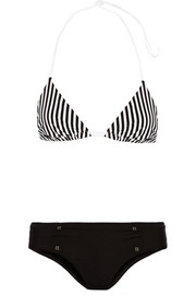 La Perla Sailor Stripes triangle bikini