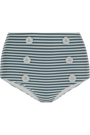 La Perla Sailor Stripes high-rise bikini briefs