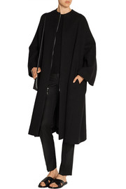 Respo cotton and wool-blend coat