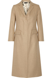 Jackson wool-blend twill coat