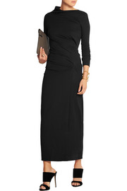 Taxa stretch-jersey maxi dress