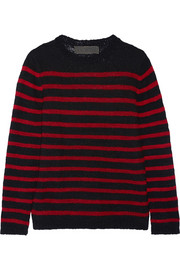 Picasso striped cashmere sweater