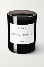 Cotton Poplin scented candle, 240g