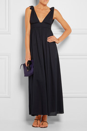 Zephyr Walkyrie cotton-jersey maxi dress