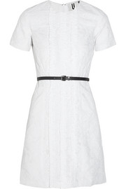 Constance broderie anglaise cotton mini dress