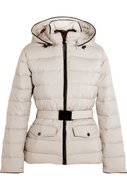 Divine quilted shell down jacket
