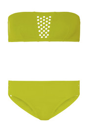Spatial and Screen cutout bandeau bikini