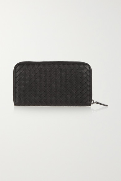 Bottega Veneta Wallets Intrecciato leather continental wallet