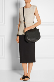 The Row Hunting 11 textured-leather shoulder bag
