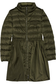 Miu Miu Hooded quilted down coat