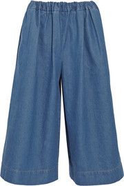 Stella McCartney Air Force denim culottes