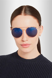 Cutler and Gross Round-frame metal sunglasses