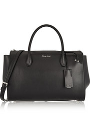 Miu Miu Trapeze leather tote
