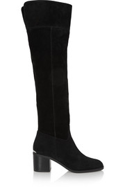 Paulette suede over-the-knee boots